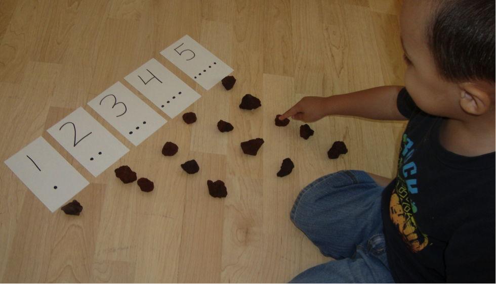 Как научить ребенка счету?