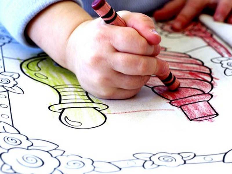 раскраски для ребенка