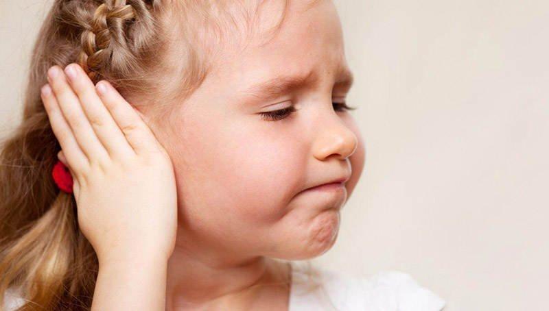 У ребенка заложило ухо